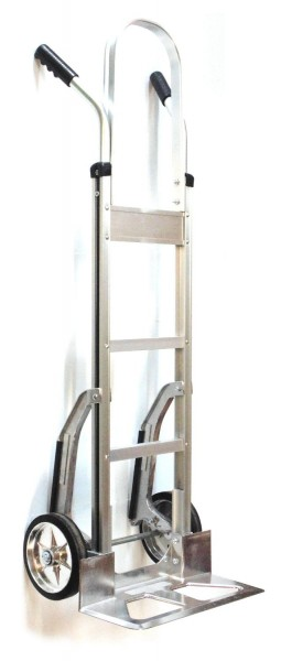 NK Heavy Duty Aluminum Dual-Handle Hand Truck with Stair Climbers