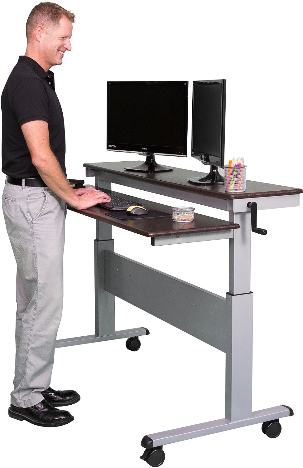 8 Best Adjustable Standing Desks In 2018 Reviews And