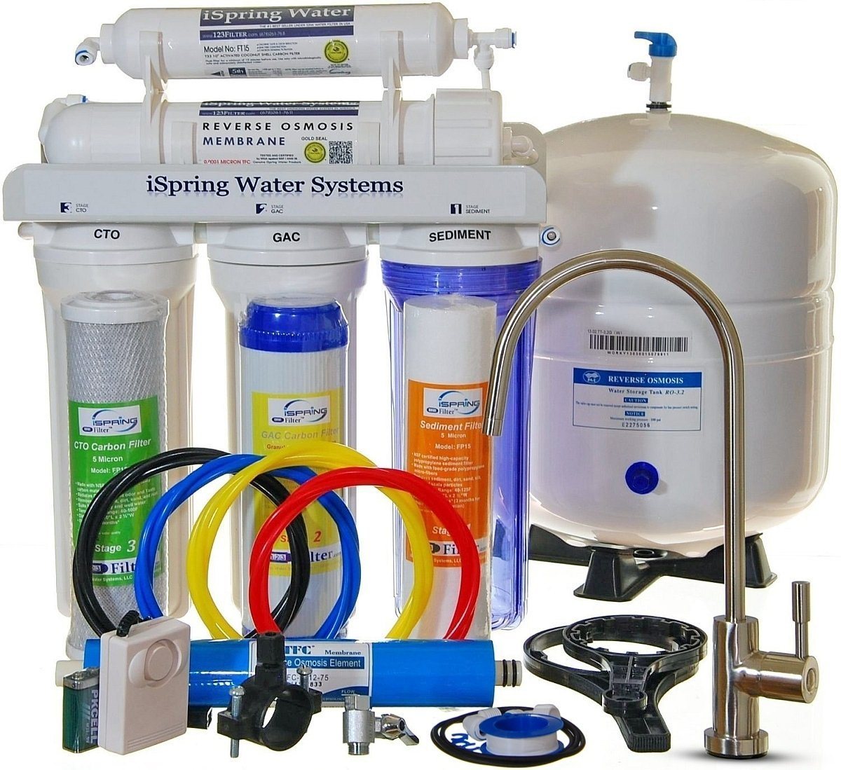ispring rcc7 under sink water filter - Undersink Water Filter
