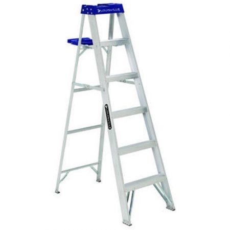 Louisville Ladder 250-Pound Aluminum Stepladder