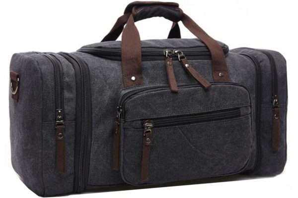 587ee36587 Aidonger Unisex Canvas Travel Bag