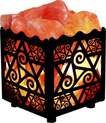 Crystal Decor Himalayan Salt Lamp