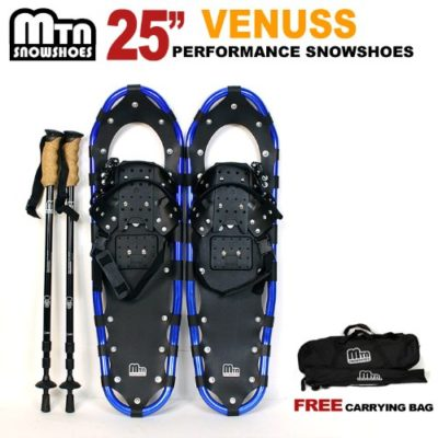 New MTN blue Snowshoes