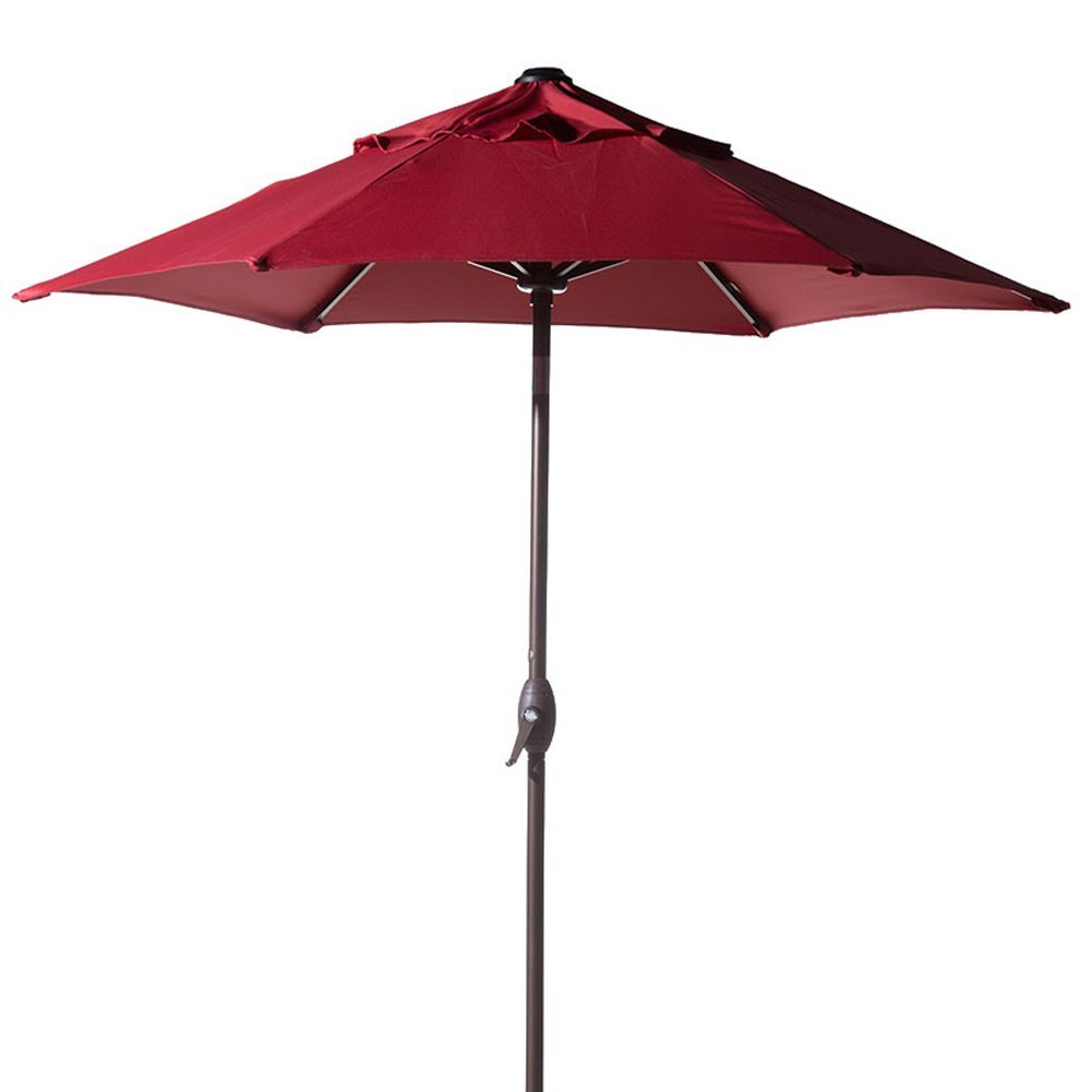Abba Patio 7.5 Ft. Round Outdoor Patio Umbrella