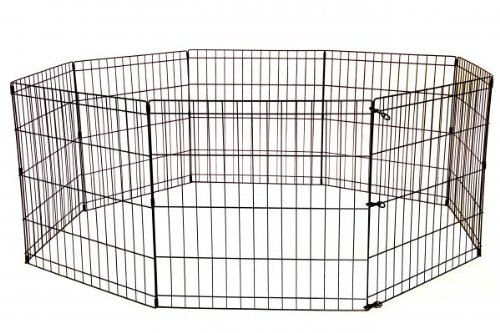 BestPet Metal Wire Playpen