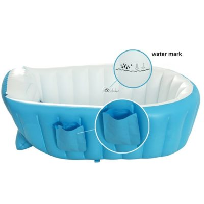 KF445 Inflatable Baby Bath Tub