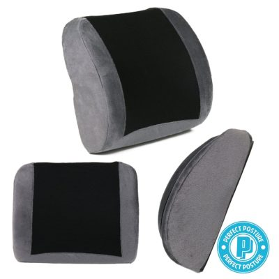 PERFECT POSTURE Lumbar Back Support Cushion Pillow