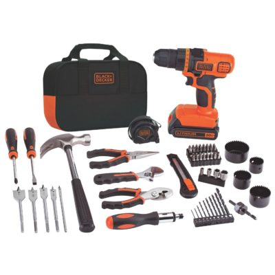 BLACK+DECKER LDX120PK Drill and Project Kit