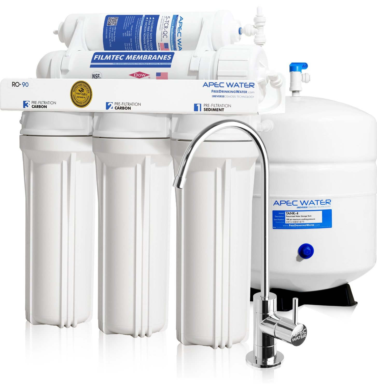8 Best Under Sink Water Filter Systems In 2018 Top Picks And Reviews Best Sorted
